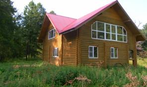 Продается  дом  в живописнейшем месте Заокского р-на Тульской обл. д. Выдумки
