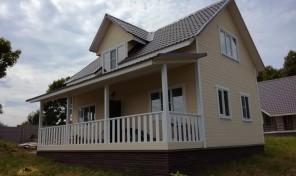 Дом 120 м² в д. Яковлево