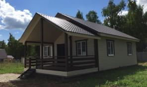 Дом 85 м² в д. Александровка
