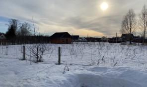 участок 14 соток в поселке Заокский